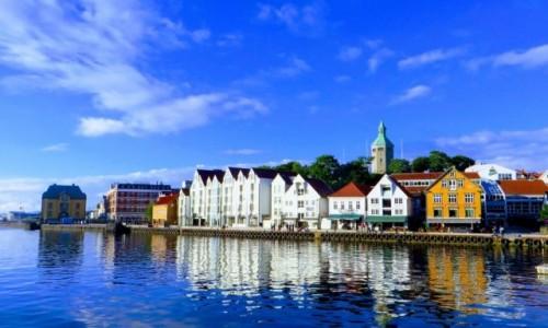 Zdjęcie NORWEGIA / Norwegia południowo - zachodnia / Stavanger / architektura Stavanger