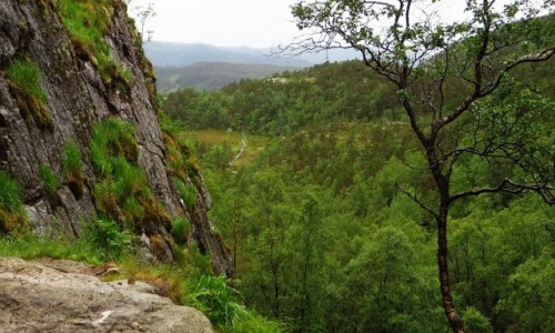 Zdjęcie NORWEGIA / Norwegia południowo zachodnia / Lysefjord / wycieczka na Preikestolen
