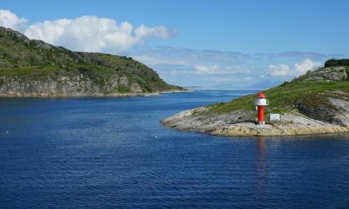 Zdjecie NORWEGIA / Østfold / Moss  / Wejście do portu