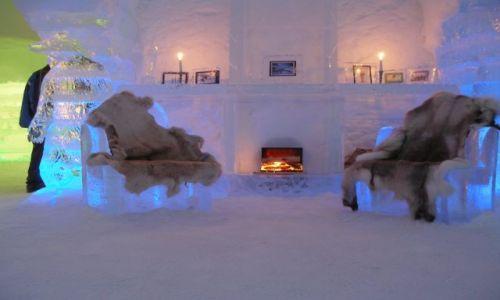 Zdjęcie NORWEGIA / Finnmark / Alta / Iglo hotel Alta