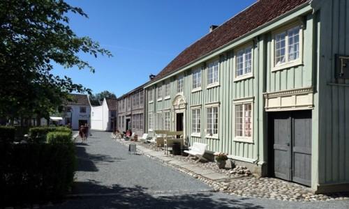 Zdjecie NORWEGIA / Trondheim, Sverresborg  / Trondelag Folk Museum / Muzeum poczty