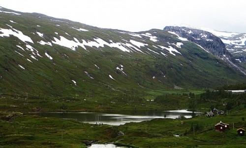 NORWEGIA / Norwegia południowo - zachodnia / trasa kolejowa Bergen - Myrdal / norweskie krajobrazy
