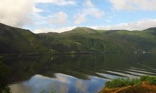 Zdjęcie NORWEGIA / Norwegia południowo - zachodnia / trasa kolejowa Bergen - Myrdal / norweskie krajobrazy
