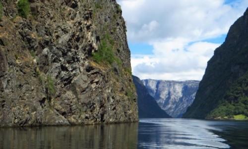 Zdjęcie NORWEGIA / Norwegia południowo - zachodnia / Naroyfjord / Naroyfjord