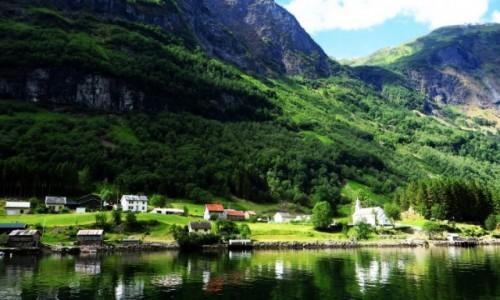 Zdjecie NORWEGIA / Norwegia południowo - zachodnia / Naroyfjord / Naroyfjord