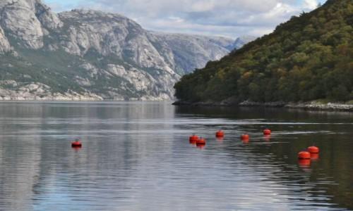 Zdjecie NORWEGIA / okolice Stavanger / Jonsfiord / Fiordowisko