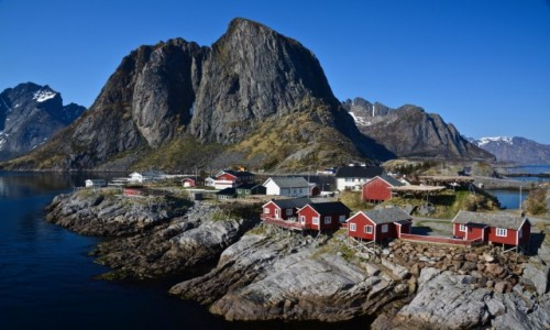 Zdjecie NORWEGIA / Moskenesøya  / Hamnøy / Hamnøy