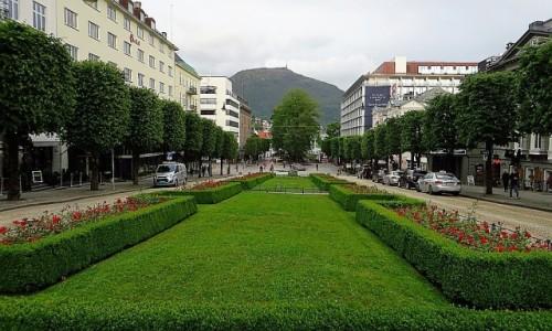 Zdjęcie NORWEGIA / Norwegia południowo - zachodnia / Bergen / plac Ole Bulla
