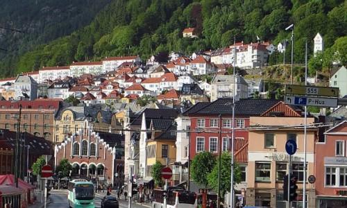 Zdjecie NORWEGIA / Norwegia południowo - zachodnia / Bergen / panorama Bergen