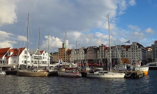 Zdjecie NORWEGIA / Norwegia południowo - zachodnia / Bergen / marina