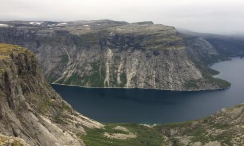 Zdjecie NORWEGIA / Odda / Hardangervidda Park Narodowy / Okolice trolltunga
