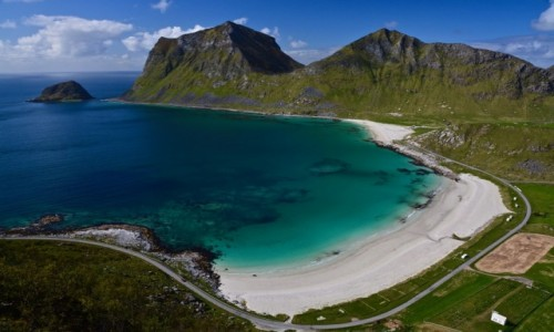 Zdjecie NORWEGIA / Vestvågøy  / Haukland / Lofoty
