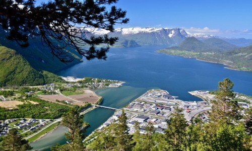 Zdjecie NORWEGIA / More og Romsdal / Åndalsnes / RAMPESTREKEN