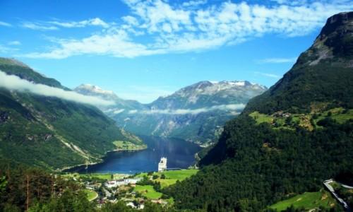 Zdjecie NORWEGIA / Geirangerfjord / Geiranger / Geiranger_2018