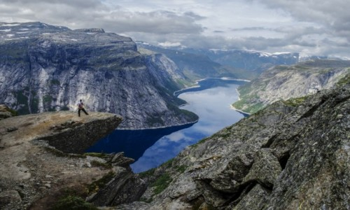 Zdjecie NORWEGIA / Hardangervidda / Trolltunga / Trolltunga