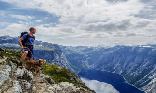 NORWEGIA / Hardangervidda / Trolltunga / Trolltunga