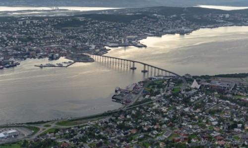 Zdjecie NORWEGIA / Północna Norwegia  / Tromso / Panorama Tromso