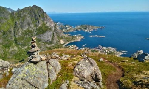 Zdjecie NORWEGIA / lofoty / gdzieś na szlaku / Moskenesøya