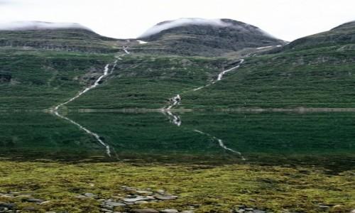 Zdjecie NORWEGIA / Norewgia Północna / Fiord / Strumienie