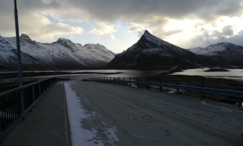 Zdjecie NORWEGIA / Lofoty / Fredvang / Norwegia