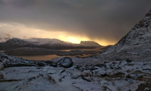 Zdjecie NORWEGIA / Lofoty / Kvalvika / Norwegia