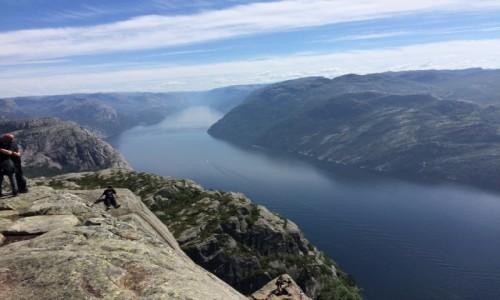 Zdjecie NORWEGIA / - / Forsand / Fiord