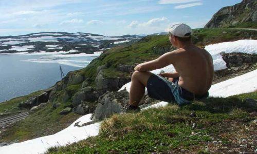 Zdjecie NORWEGIA / brak / brak / Szlak roweroey Rallarvegen2