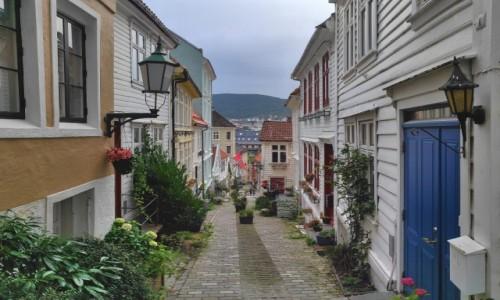 Zdjecie NORWEGIA / Vestland / Bergen / Zakamarki Bergen