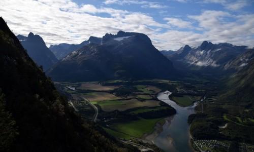 Zdjecie NORWEGIA / More og Romsdal / Andalsnes / Romsdalen