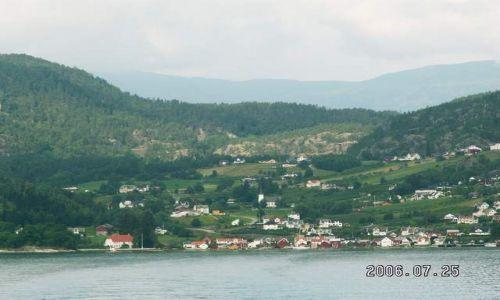 NORWEGIA / brak / Solvorn / Widok na Solvorn