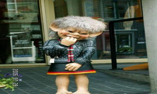 Zdjecie NORWEGIA / brak / Lillehammer / dziewczyna trolla
