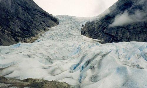 Zdjecie NORWEGIA / brak / Jostedal / lodowiec Josted