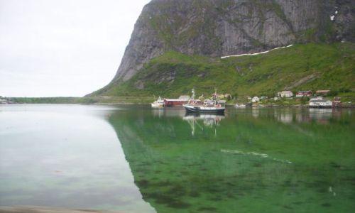 Zdjecie NORWEGIA / Lofoty  / lofoty / Norwegia latem