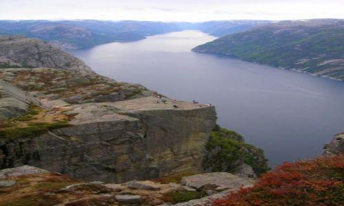 Zdjecie NORWEGIA / brak / Lysefjorden / Preikestolen