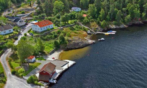 Zdjecie NORWEGIA / brak / Granica Szwecja-Norwegia / Granica