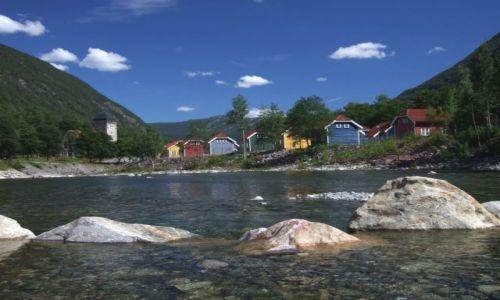 Zdjecie NORWEGIA / brak / Rjukan / krajobraz Norwegii