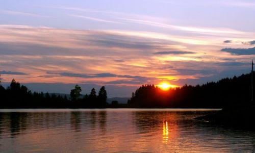 Zdjęcie NORWEGIA / Skandynawia / Gansvika / Zachód słońca 07