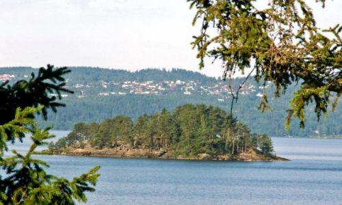 Zdjęcie NORWEGIA / Skandynawia / Gansvika / Jezioro Qyren 02