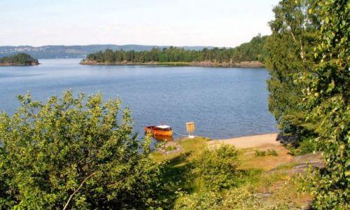 Zdjęcie NORWEGIA / Skandynawia / Gansvika / Jezioro Qyren 03