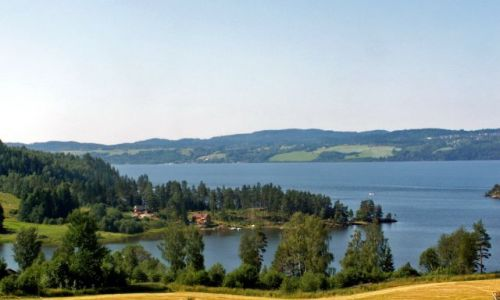 Zdjęcie NORWEGIA / Skandynawia / Gansvika / Jezioro Qyren 05