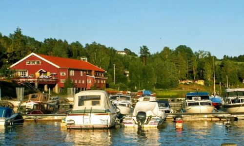 Zdjęcie NORWEGIA / Skandynawia / Gansvika / Jezioro Qyren 06