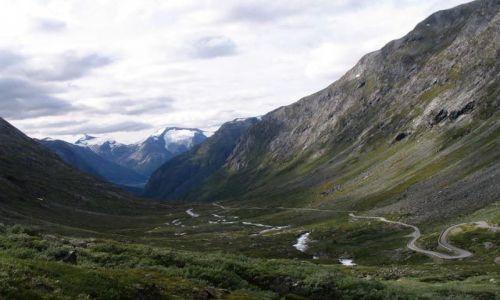 NORWEGIA / Sogn og Fjordane / Forde / Wysokości