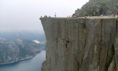 Zdjecie NORWEGIA / południe Norwegii / Preikestolen, Lysefjorden / Preikestolen
