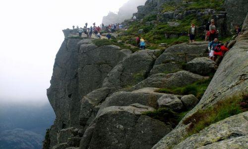 Zdjecie NORWEGIA / południe Norwegii / Preikestolen / Preikestolen