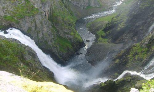Zdjęcie NORWEGIA / okolice Eidfjord / Voringfoss / Voringfoss3