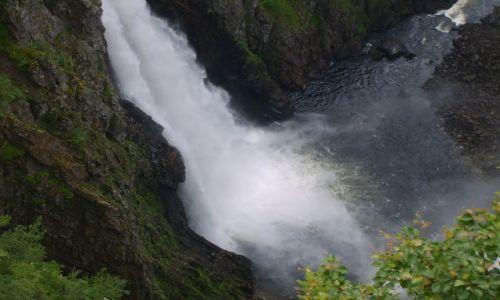Zdjęcie NORWEGIA / okolice Eidfjord / Voringfoss / Voringfoss4