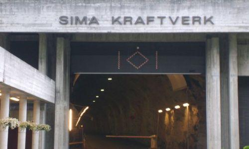 Zdjęcie NORWEGIA / okolice Eidfjord / Sima / Hydroelektrownia