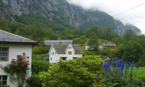 Zdjecie NORWEGIA / okolice Eidfjord / Sima / Osiedle:)