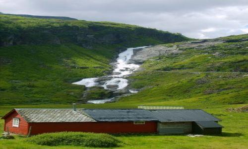 Zdjecie NORWEGIA / okolice Sognefjorden / brak / W drodze do Sognefjorden2
