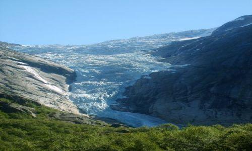 Zdjęcie NORWEGIA / Jostedalsbreen Nasjonalpark / brak / Jęzor lodowcowy1